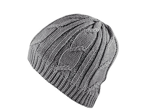 SEALSKINZ GREYWATERPROOF CABLE KNIT BEANIE HAT