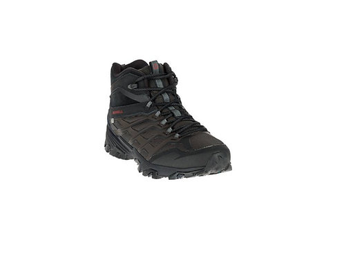 MERRELL BLACK MOAB FST ICE AND THERMO WALKING BOOTS