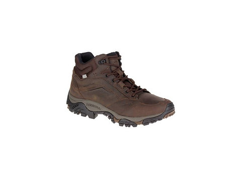 MERRELL DARK EARTH MOAB ADVENTURE MID WATERPROOF WALKING BOOTS