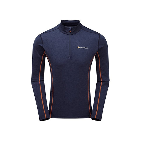 MONTANE ANTARCTIC BLUE DART ZIP NECK
