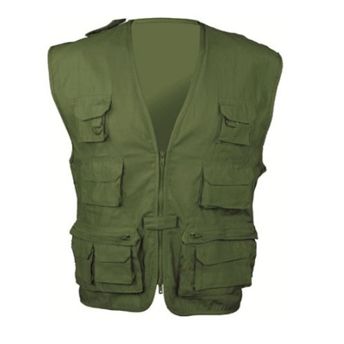 HIGHLANDER OLIVE MULTI-PURPOSE WAIST COAT