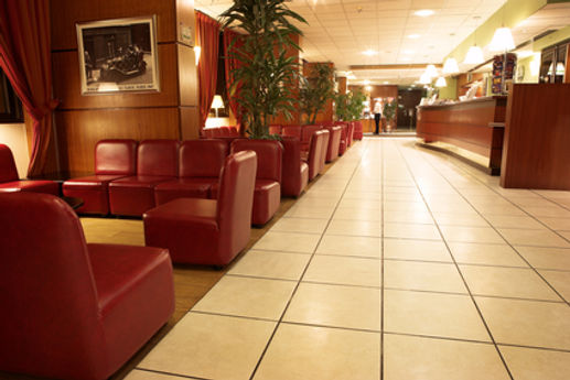 Commercial tile cleaning