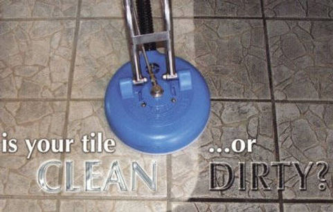 Is your tile clean or dirty?