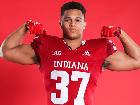 4th and 20 Media sits down with Indiana Football Freshman Ty Wise
