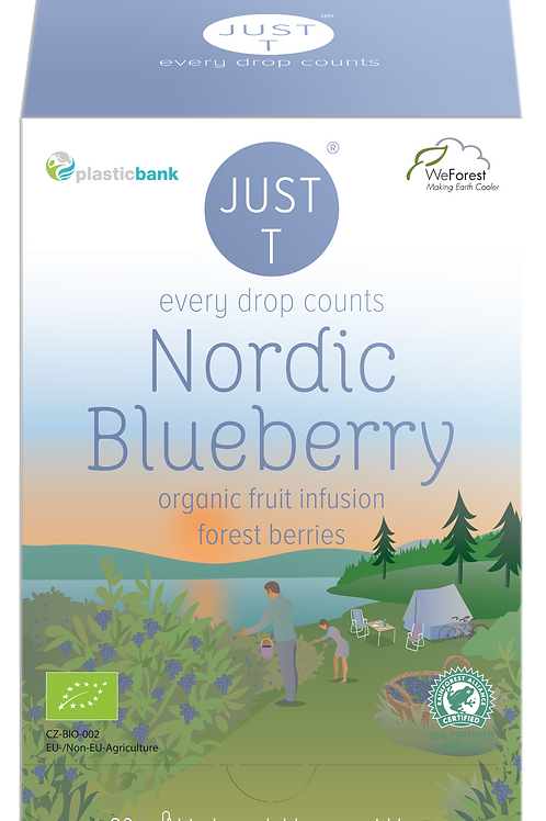 NORDIC BLUEBERRY (20 Pyramid tea bags)
