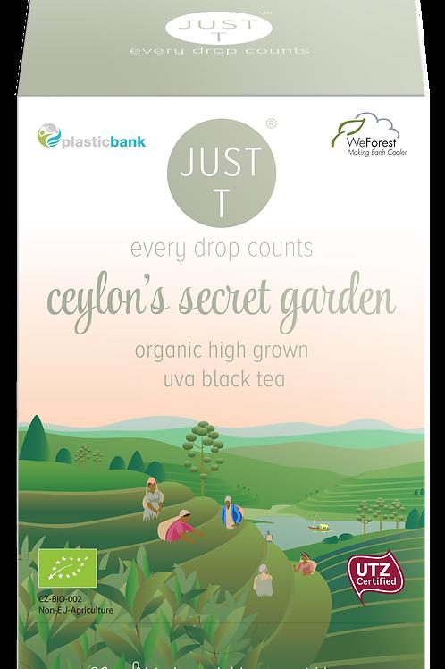 CEYLON´S SECRET GARDEN (20 Pyramid tea bags)