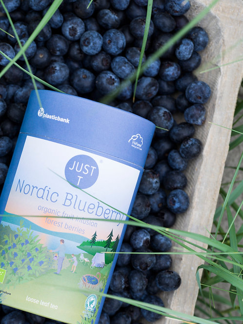 NORDIC BLUEBERRY LOOSE TEA (125gr)