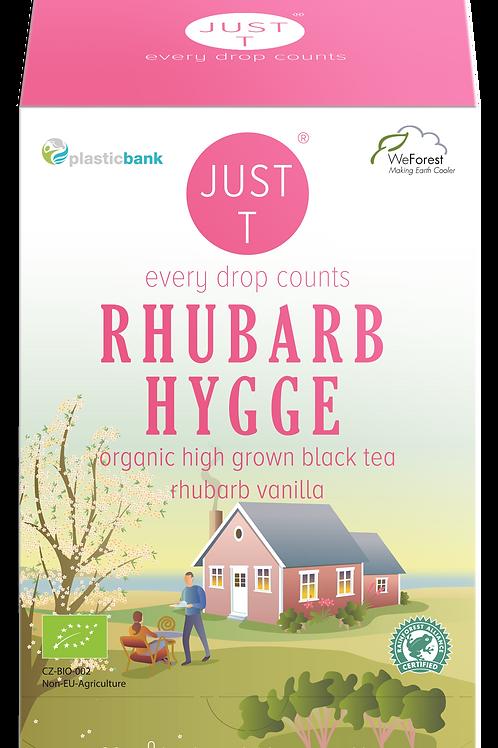 RHUBARB HYGGE (20 Pyramid tea bags)
