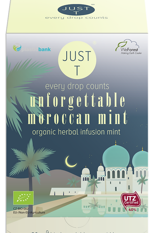 UNFORGETTABLE MOROCCAN MINT (20 Pyramid tea bags)
