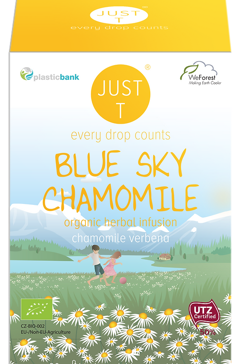 BLUE SKY CHAMOMILE (20 Pyramid tea bags)