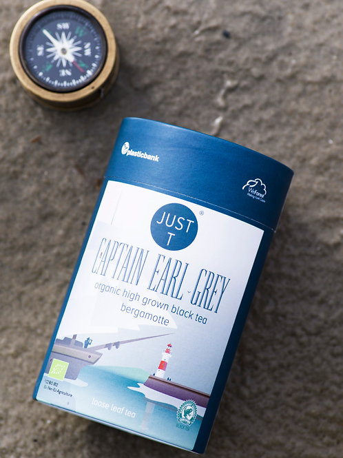 CAPTAIN EARL GREY LOOSE TEA (80gr)