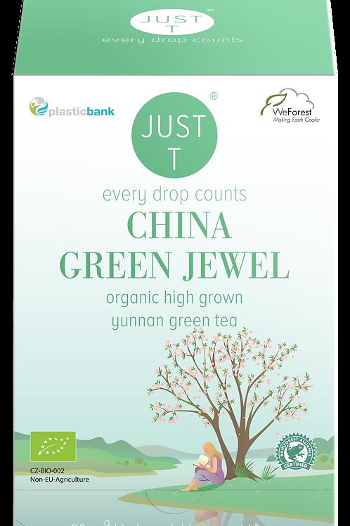CHINA GREEN JEWEL (20 Pyramid tea bags)