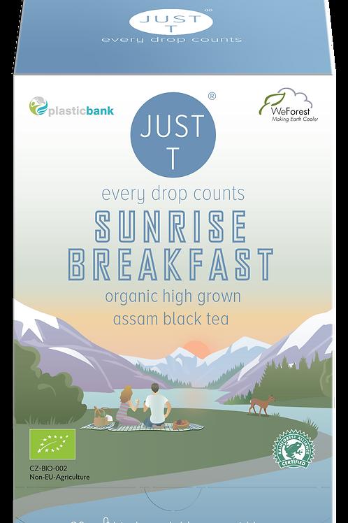 SUNRISE BREAKFAST (20 Pyramid tea bags)
