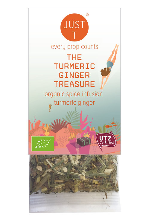 THE TURMERIC GINGER TREASURE Convenience Tea Bag (60pc)