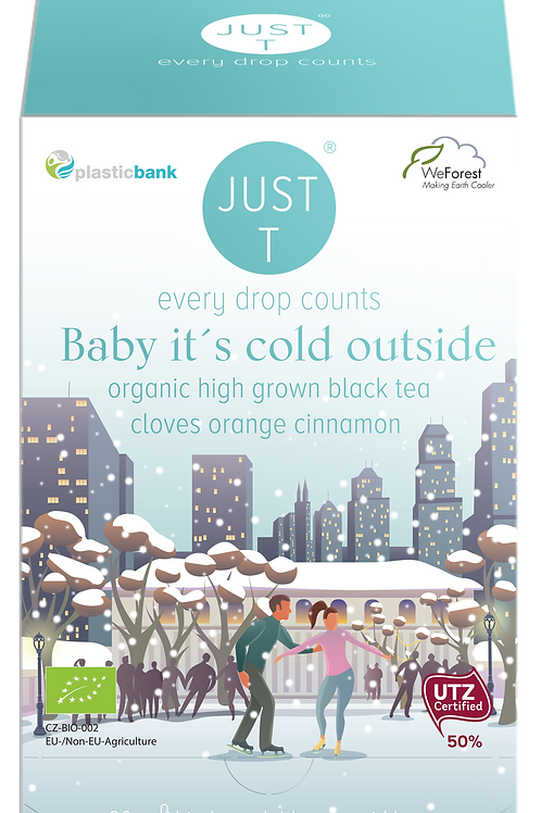 BABY IT´S COLD OUTSIDE (20 Pyramid tea bags)