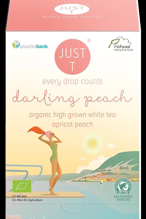 DARLING PEACH (20 Pyramid tea bags)