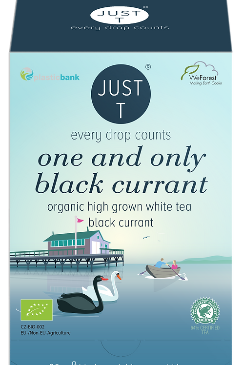 ONE AND ONLY BLACK CURRANT (20 Pyramid tea bags)