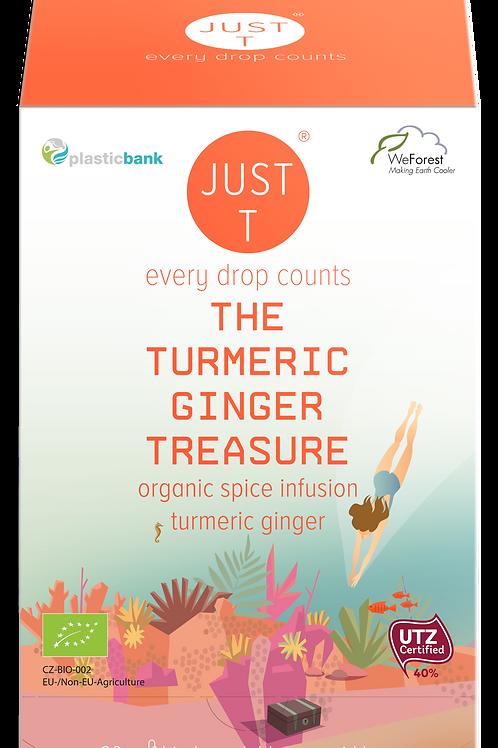 THE TURMERIC GINGER TREASURE (20 Pyramid tea bags)