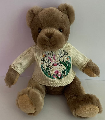 12 Inch Bunny in Garden Jumper Only