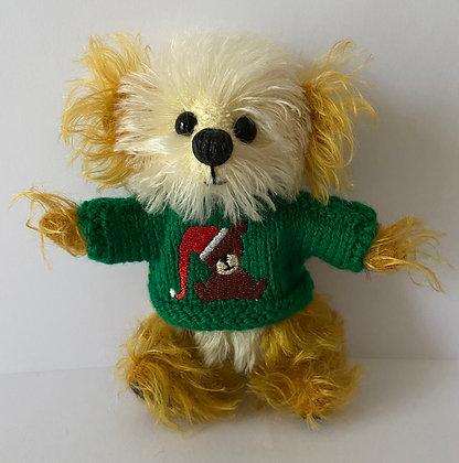 5 Inch 'Teddy in Santa Hat' Jumper Only