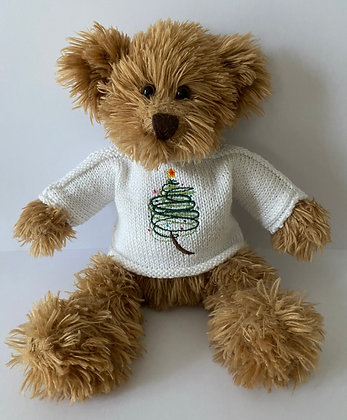 15 Inch 'Swirly Christmas Tree' Jumper Only