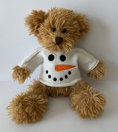 12 Inch 'Snowman Face' Jumper Only
