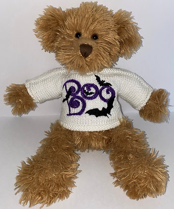 15 Inch Halloween Boo and Bats Jumper Only