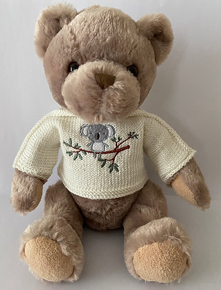 15 Inch  Koala Bear Jumper Only