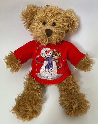 12 Inch 'Snowman and Bear' Jumper Only