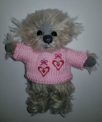 5 Inch '2 Hearts' Jumper Only
