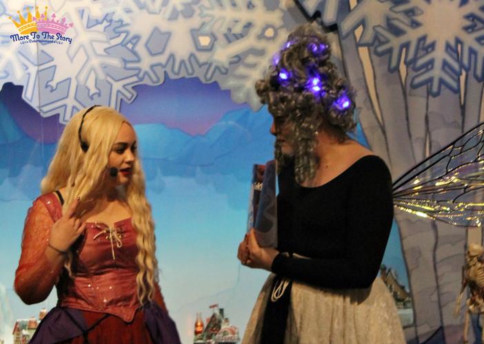 Sarah and Fairy Caitlin