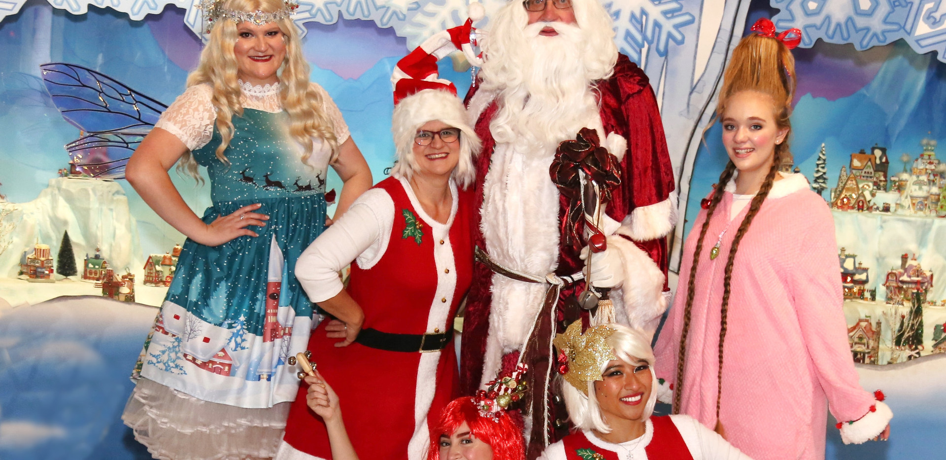 Elves, Christmas Fairies, Father Christmas