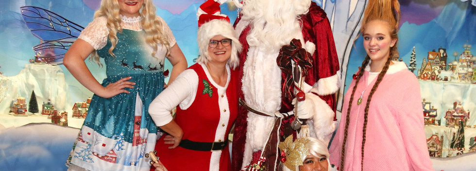 Elves, Christmas Fairies, Father Christmas