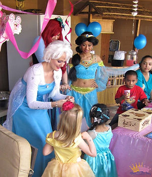 princess parties tucson, tucson princess parties, mttse