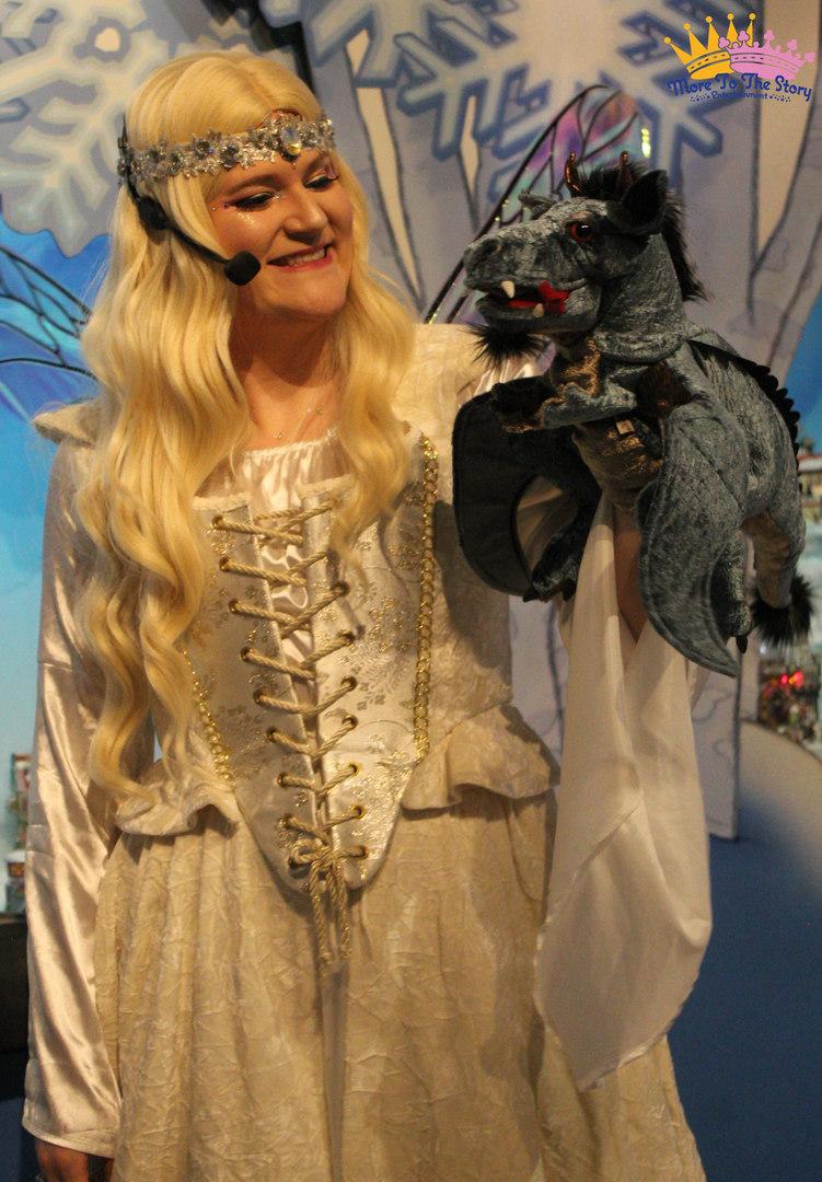 Fairy Caitlin and Rico Suave the Dragon.