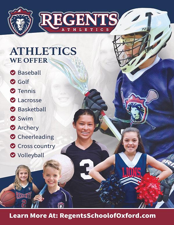 Regents Athletics - Sports Flyer (Aug202
