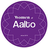 Women of Aalto logo. Catering asiakas