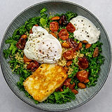 green hippo kale bowl