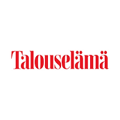 Talouelämä logo that is linked to an artickle about the Green Hippo Coffee Subscription service.