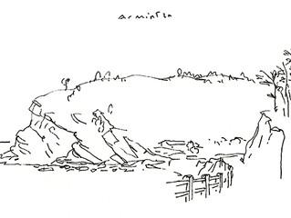 Dibujos de la costa Vasca