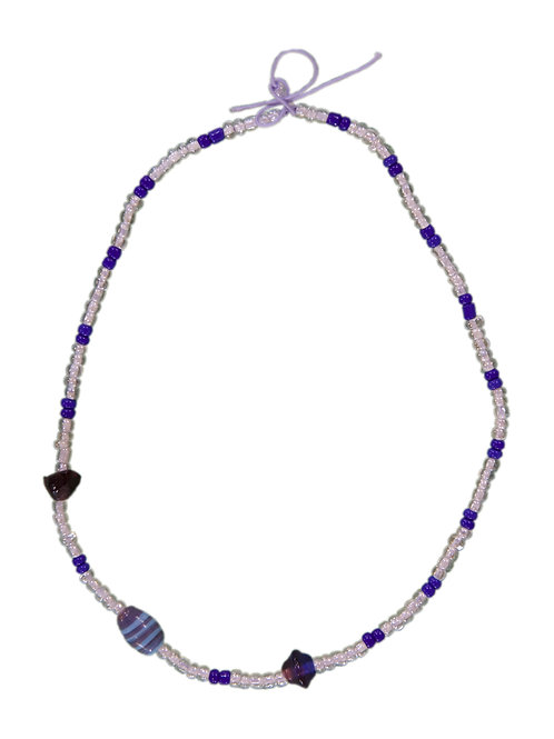 Unique Beads Necklace Glass Beads