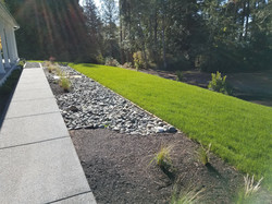Drainage Trench Beautified