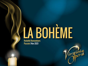 Virginia Opera: La Bohème: Rodolfo Remembers