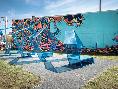 Art Installation brings the Perfect Wave to the Oceanfront