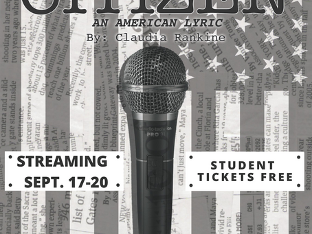 """W&M Theatre and Dance Opens Digital Fall Season with """"Citizen: An American Lyric"""""""