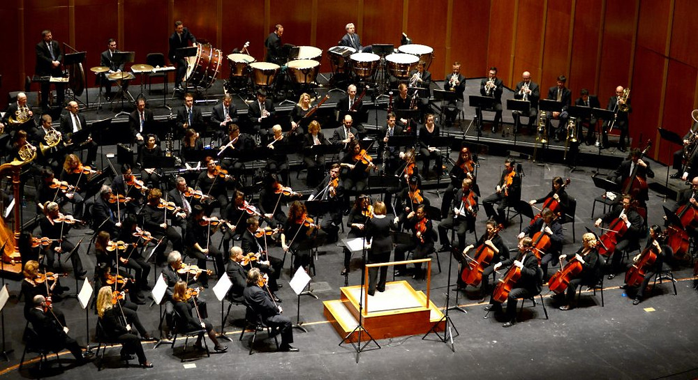 Virginia Symphony Orchestra playing Beethoven and Mahler in 2014