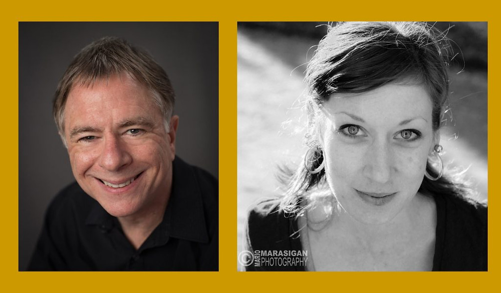 Paul Laskow and Staci Murowski's headshots