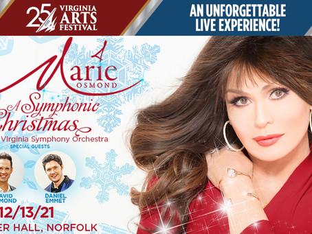 Virginia Arts Festival presents Marie Osmond - A Symphonic Christmas