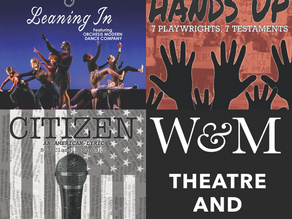 W&M Theatre & Dance to Present Innovative Digital Fall Season