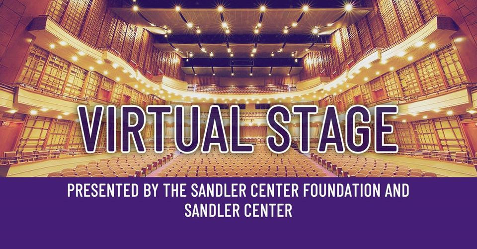 The logo for the Virtual Stage.